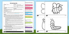 Minibeast Working Web EYFS Adult Input Plan and Resource Pack