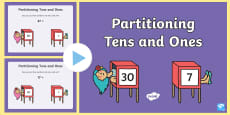 Maths Magician Partitioning Tens Units PowerPoint