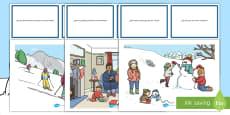 Pack de recursos: Tarjetas de preguntas - Invierno