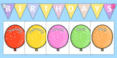 Balloon Themed Birthday Display Pack