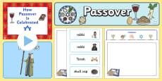 * NEW * Passover Resource Pack