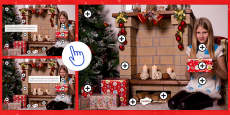 Christmas Spot and Correct the Mistakes Picture Hotspots French