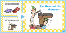 The Elves and the Shoemaker Story PowerPoint