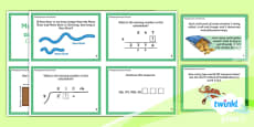 PlanIt Y4 Multiplication and Division Challenge Cards