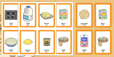 Pancake Day Pairs Matching Game Romanian Translation
