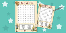 Word Search to Support Teaching on Dogger