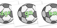 Silent Letters on Footballs