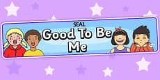 Good To Be Me Display Banner (SEAL)