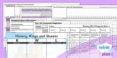 PlanIt - History KS1 - Kings and Queens Unit Assessment Pack
