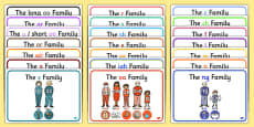 Sound Families with Pictures