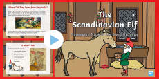 The Scandinavian Elf PowerPoint