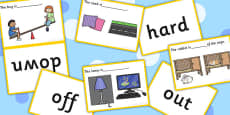 Complete The Sentence Basic Concepts Matching Cards Activity (Set Two)