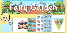 Fairy Garden Role Play Pack