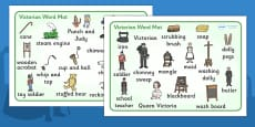 The Victorians Word Mat