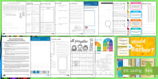 Back to School Grade 3-5 Resource Pack