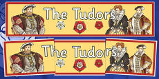 The Tudors Display Banner