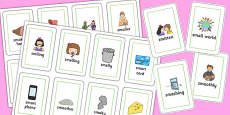 Two Syllable 'SM' Flash Cards