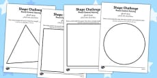 Pencil Control Activity Shape Sheets Arabic Translation