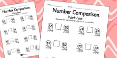 Rapunzel Number Comparison Activity Sheets