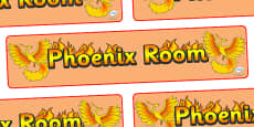 Phoenix Room Display Banner