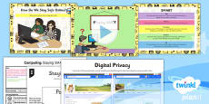 PlanIt - Computing Year 3 - Internet Research and Communication Lesson 5: Staying SMART Lesson Pack
