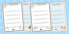 The Tale of Mrs Tiggy Winkle Trace the Words Activity Sheets (Beatrix Potter)