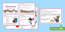* NEW * Year 3 Money Maths Mastery Challenge Cards