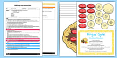 EYFS Stacking Pancakes Finger Gym Plan and Resource Pack