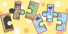 Phoneme Segmentation Jigsaws Set 1