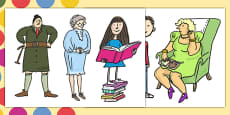 Story Cut Outs to Support Teaching on Matilda