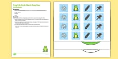 Frog Life Cycle Match Busy Bag Resource Pack For Parents