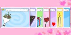 Australia - Valentine's Day Playdough Mats