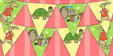 The Tortoise and The Hare Bunting