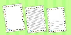 Vegetable Page Borders