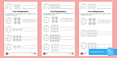 * NEW * Year 2 Maths Coin Multiplication Homework Go Respond Activity Sheet