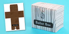 Ballot Box 3D Shape Net