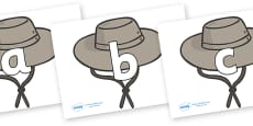 Phoneme Set on Cowboy Hats