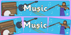 Music - Sound Arts Display Banner NZ