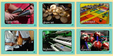 Musical Instrument Display Photos