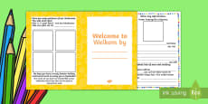 Welcome Booklet for Children English/Afrikaans