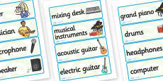 Music Production Studio Role Play Labels