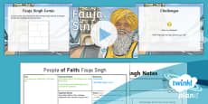 PlanIt - RE Year 4 - People of Faith Lesson 4: Fauja Singh Lesson Pack