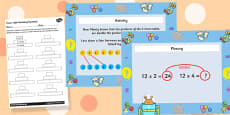 Doubling Times Tables to Make Connections Differentiated Lesson Teaching Pack