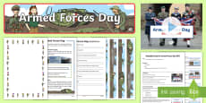 * NEW * Armed Forces Day KS1 Resource Pack English