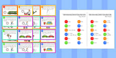Time Length and Capacity Problem Solving Challenge Cards