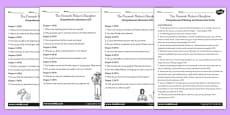 The Firework Maker's Daughter Differentiated Reading Comprehension Activity