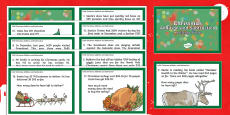 * NEW * Addition and Subtraction Christmas Challenge Cards