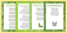 Songs and Rhymes Resource Pack to Support Teaching on The Very Hungry Caterpillar