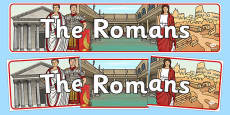 The Romans Display Banner