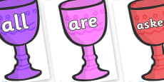Tricky Words on Goblets